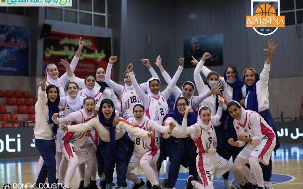 مسابقات لیگ برتر بسکتبال زنان - گروه الف: نارسینا- بهمن