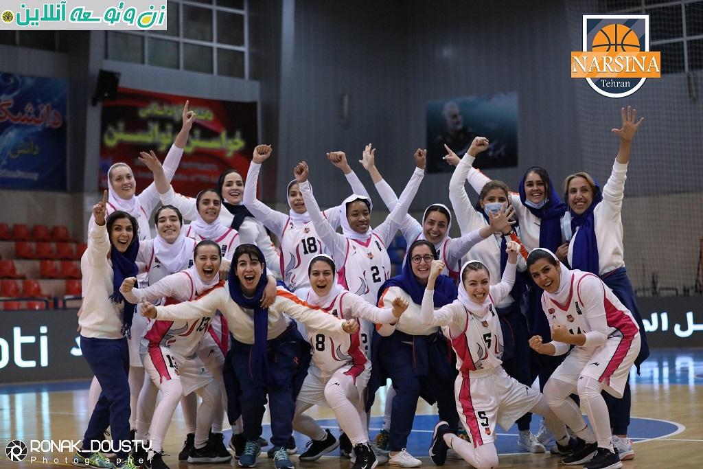 مسابقات لیگ برتر بسکتبال زنان – گروه الف: نارسینا- بهمن